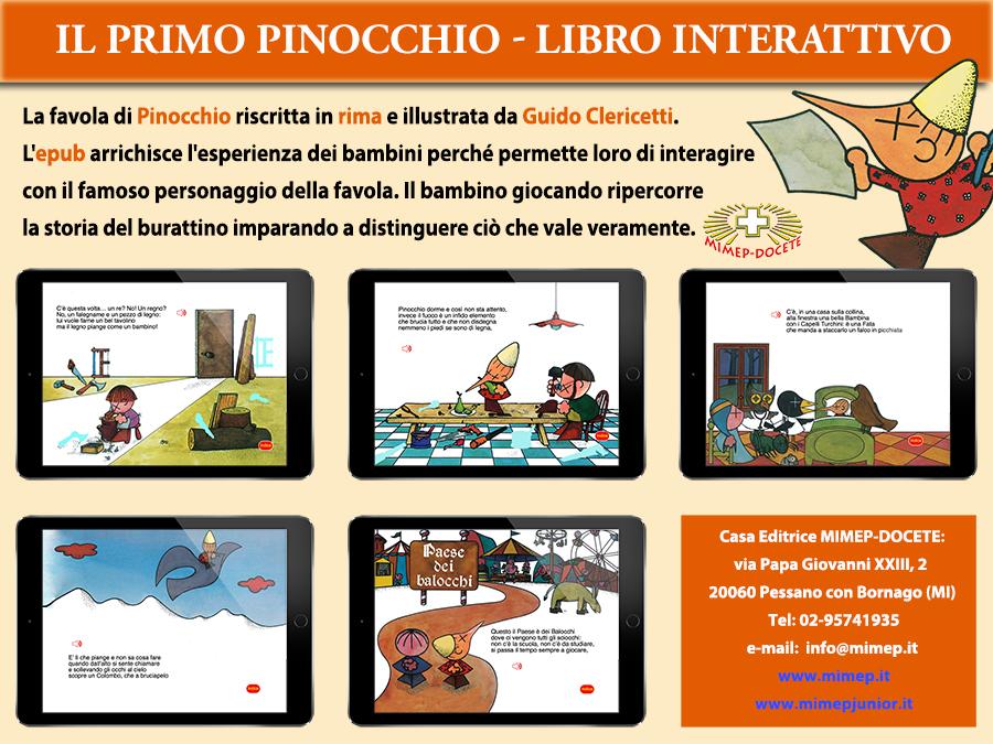 Pinocchio libro interattivo