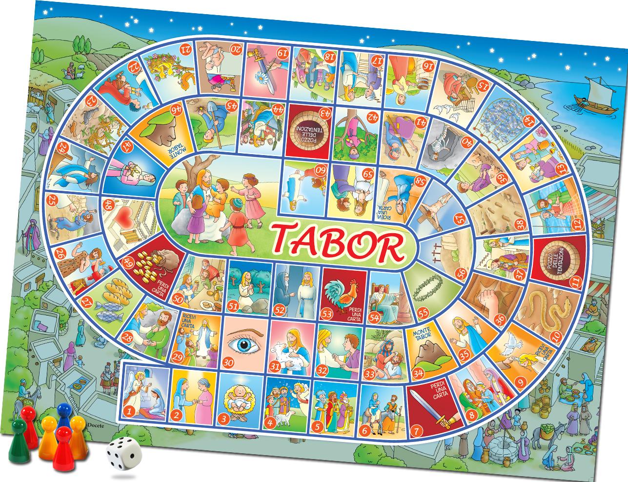 Tabor gioco casa editrice mimep docete - Giocare giochi da colorare gratis ...