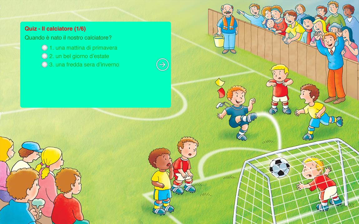 Il calciatore casa editrice mimep docete - Pagina da colorare di un pallone da calcio ...