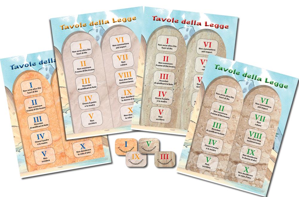 Sinai gioco casa editrice mimep docete - Tavole dei dieci comandamenti ...