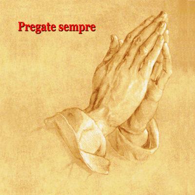 icona prega sempre